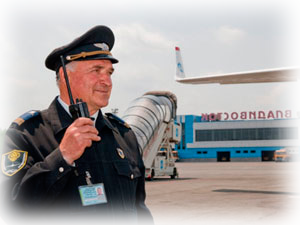 услуги охраны аэропортов
