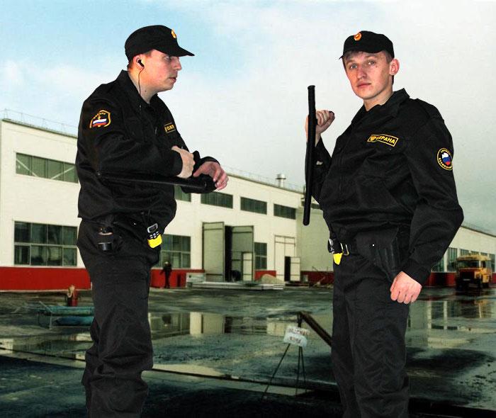 Охрана предприятий