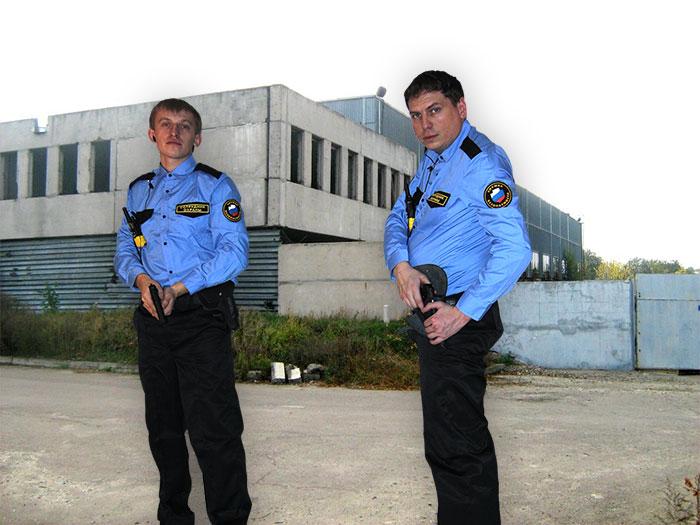 Охрана завода
