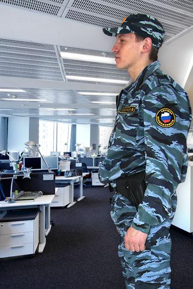 Охрана офисов: защита от грабителей