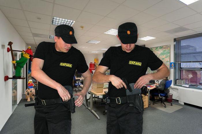 Охрана офиса - защита от кражи
