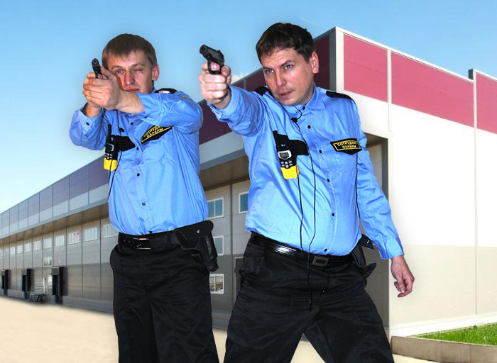Обеспечение охраны места происшествия