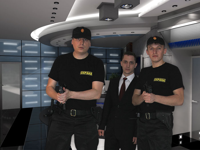 Услуги охраны банка